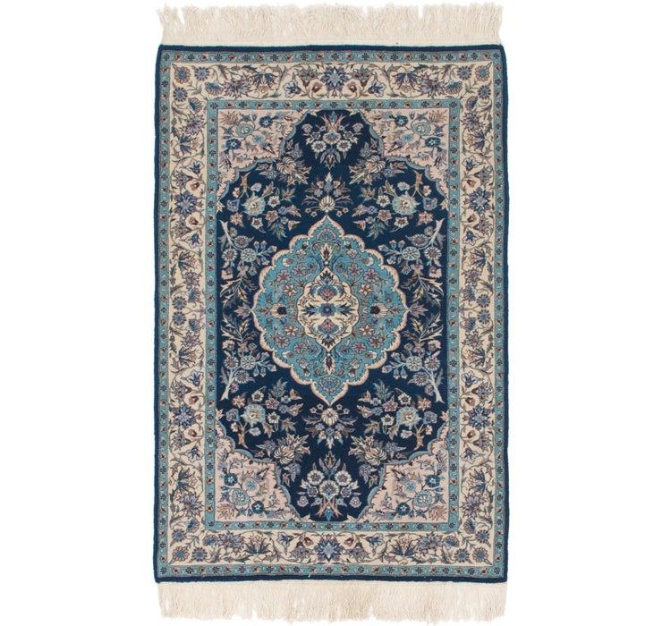 3' 2 x 5' 2 Isfahan Oriental Rug