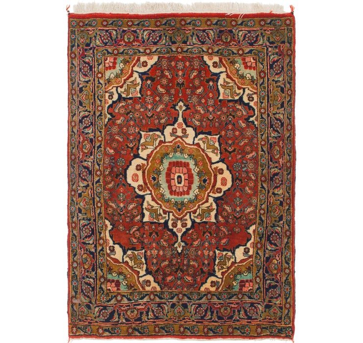 3' 10 x 5' 6 Bidjar Persian Rug