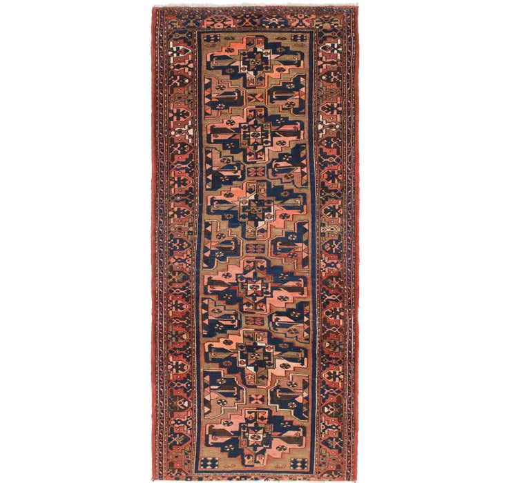 117cm x 290cm Saveh Persian Runner Rug