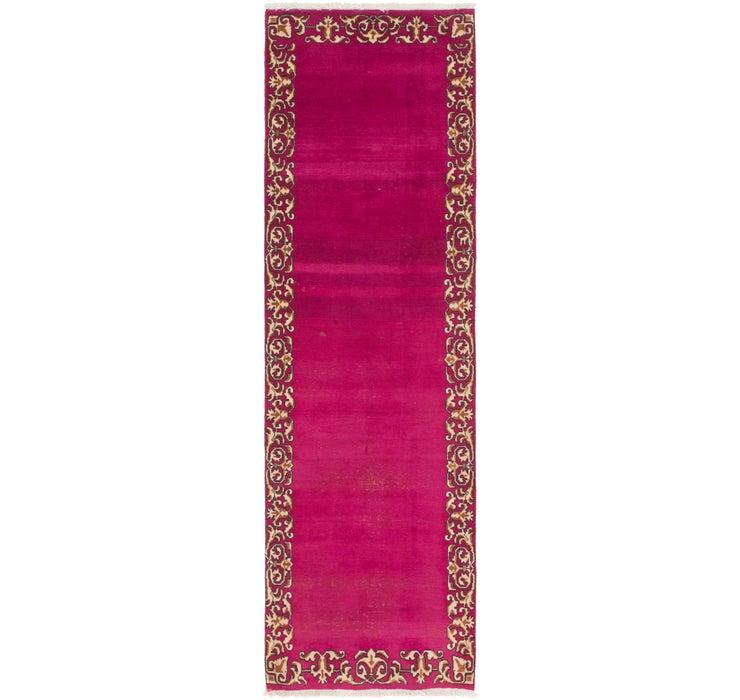 2' 9 x 9' 9 Tabriz Persian Runner Rug