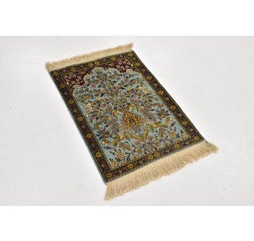 1' 9 x 2' 7 Qom Persian Rug main image