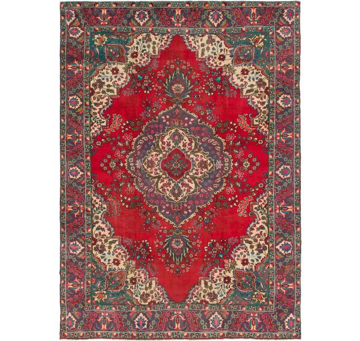 9' 6 x 13' 2 Tabriz Persian Rug