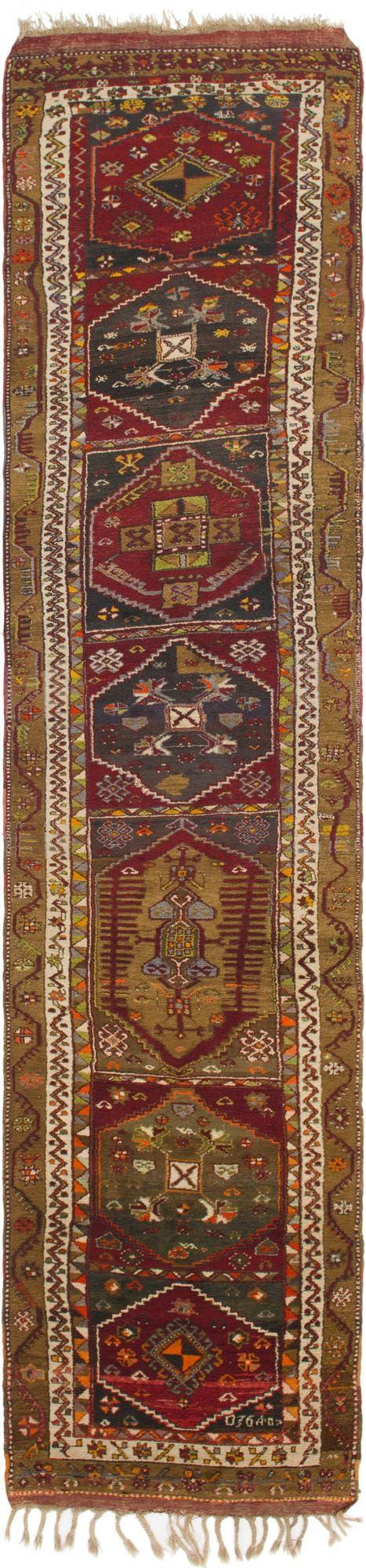 3' 7 x 16' 2 Anatolian Oriental Runner Rug main image