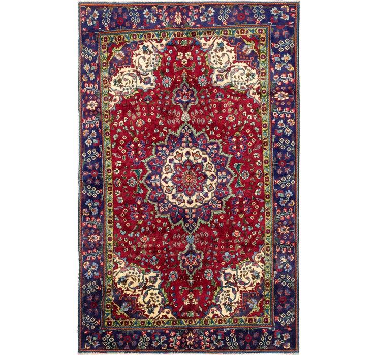 6' 2 x 10' Tabriz Persian Rug