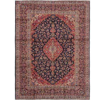 Image of 7' 10 x 10' 7 Kashan Persian Rug
