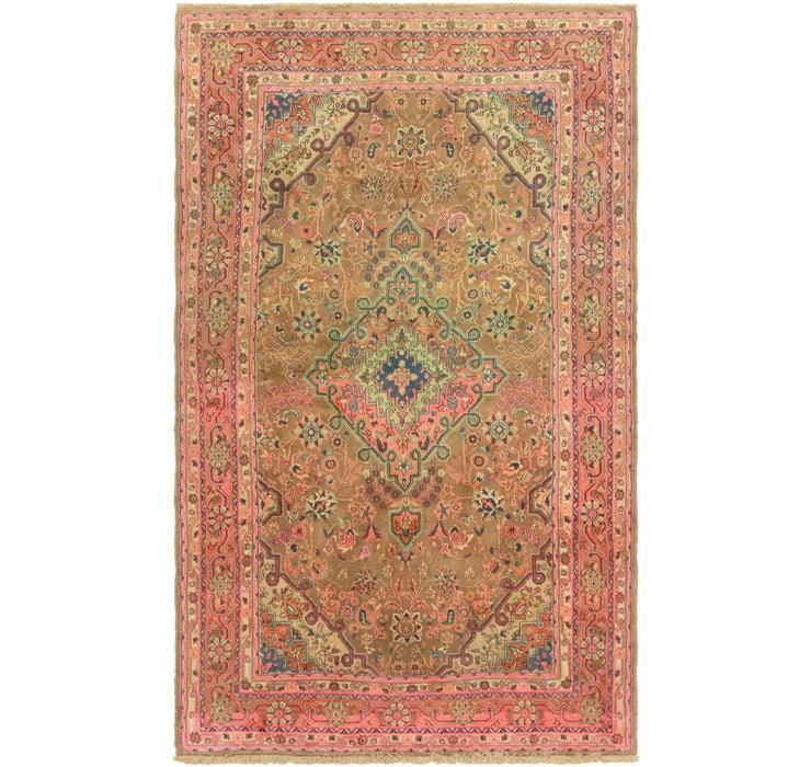 6' 9 x 11' 2 Shahrbaft Persian Rug