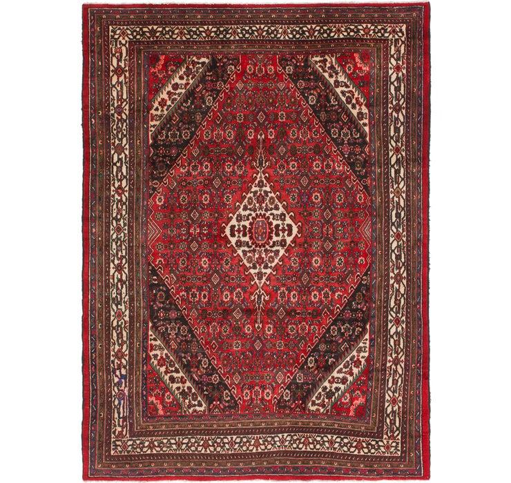 270cm x 370cm Hamedan Persian Rug