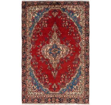 6' x 9' 2 Hamedan Persian Rug main image