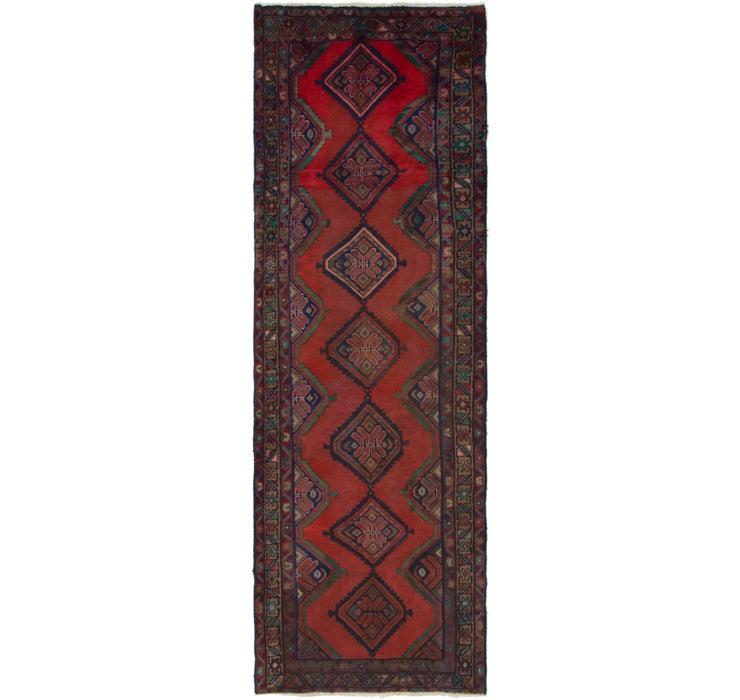 3' 3 x 10' 3 Chenar Persian Runner Rug