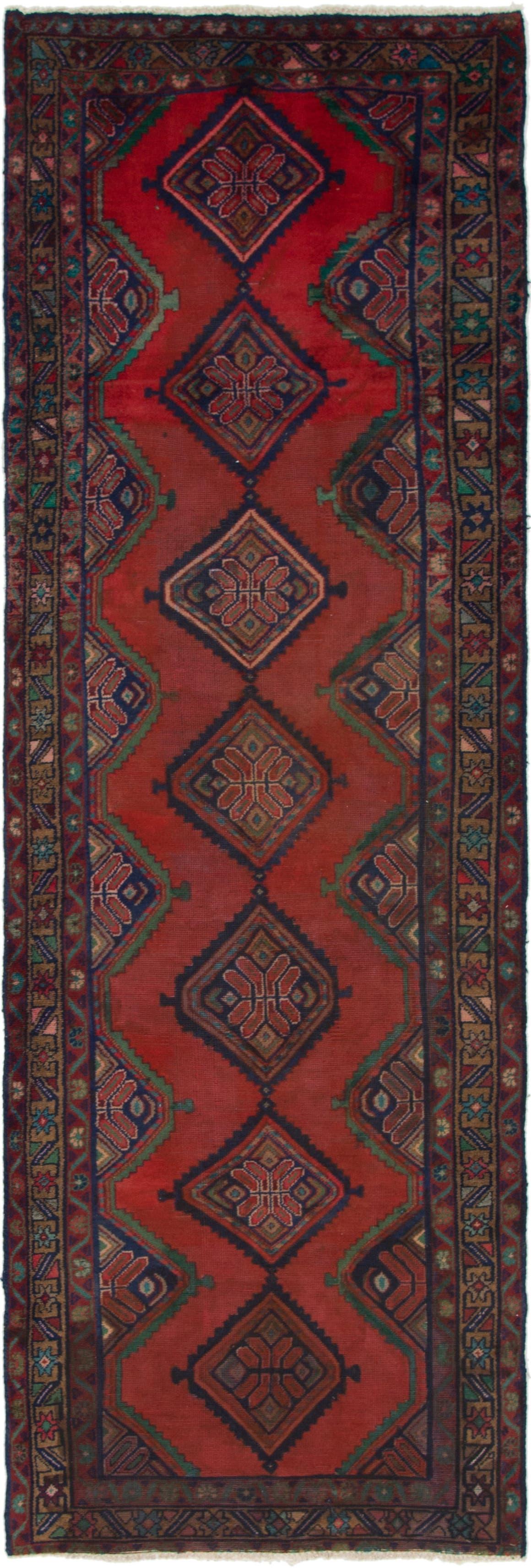 3' 3 x 10' 3 Chenar Persian Runner Rug main image