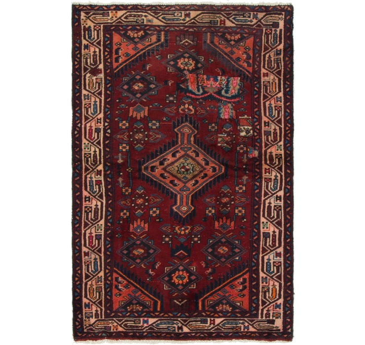 97cm x 163cm Mazlaghan Persian Rug