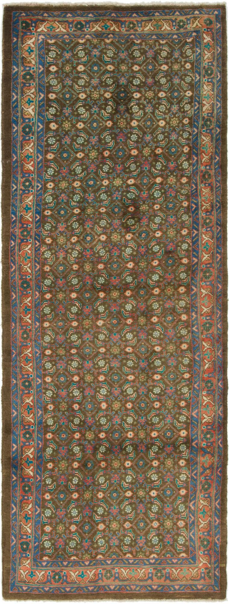 3' 7 x 10' 5 Farahan Persian Runner Rug main image