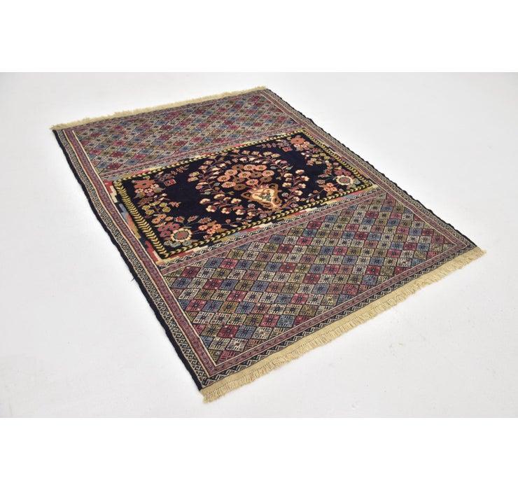 Image of 137cm x 175cm Yalameh Persian Rug
