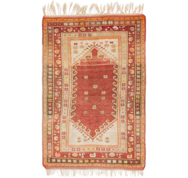 3' 8 x 5' 10 Anatolian Oriental Rug