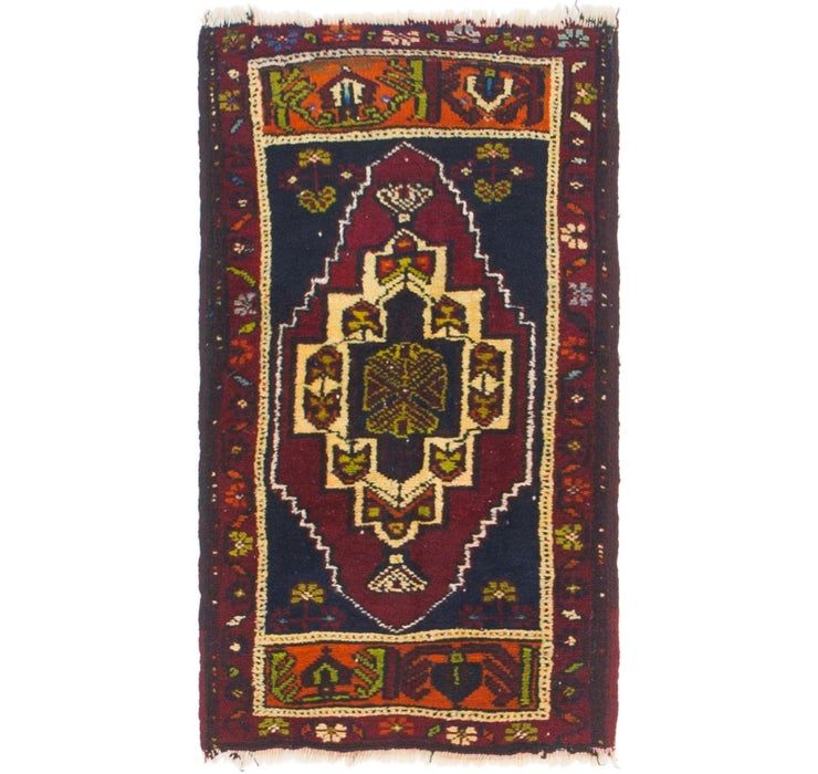 1' 9 x 3' Anatolian Rug