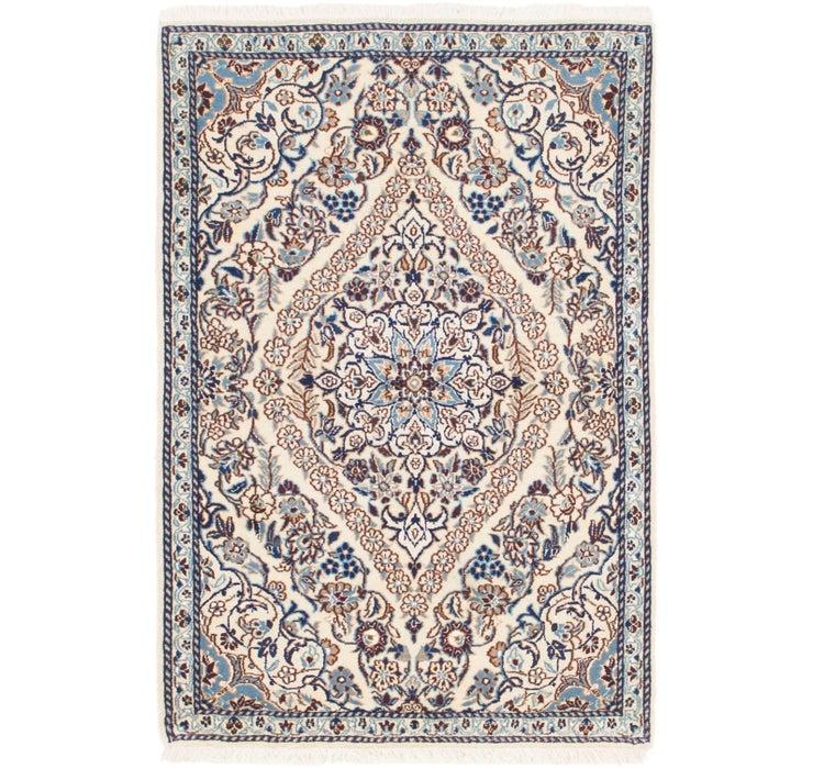2' 10 x 4' 2 Nain Persian Rug