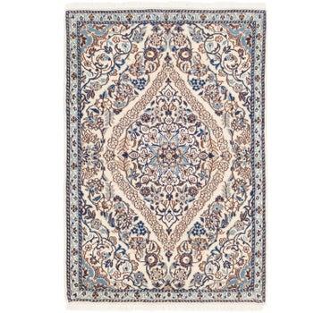 2' 10 x 4' 2 Nain Persian Rug main image