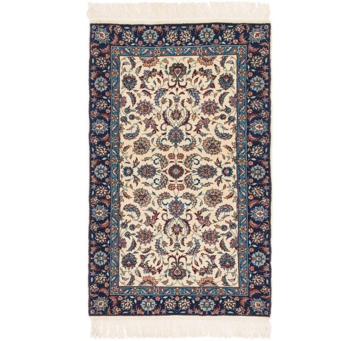3' x 5' 2 Isfahan Oriental Rug