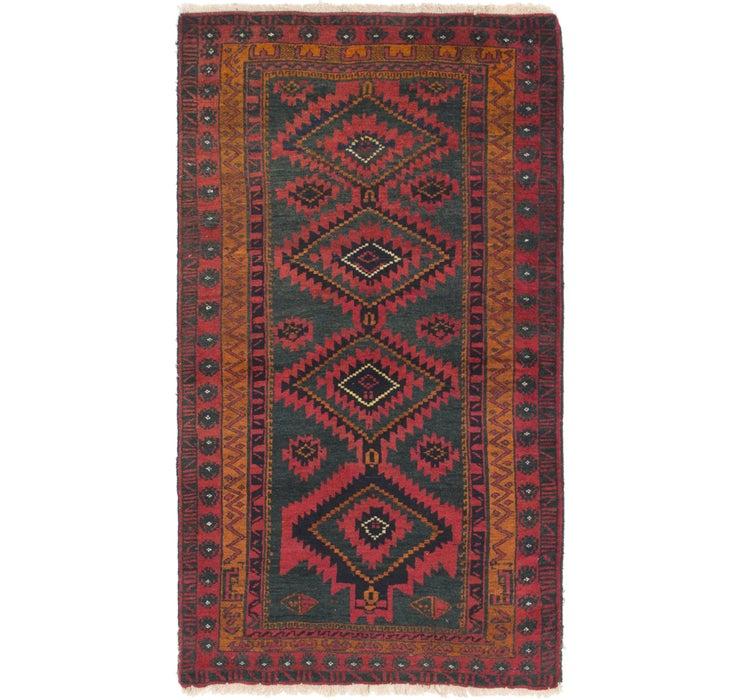 90cm x 160cm Yalameh Persian Rug