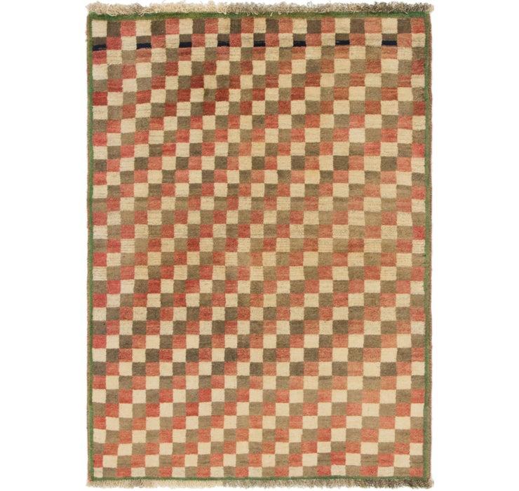 100cm x 137cm Shiraz-Gabbeh Persian Rug