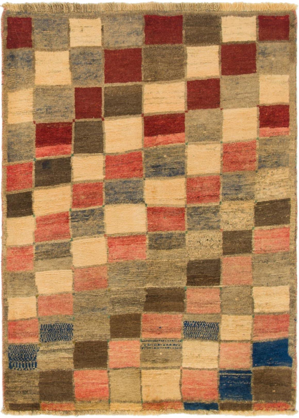 3' 7 x 5' Shiraz-Gabbeh Persian Rug main image