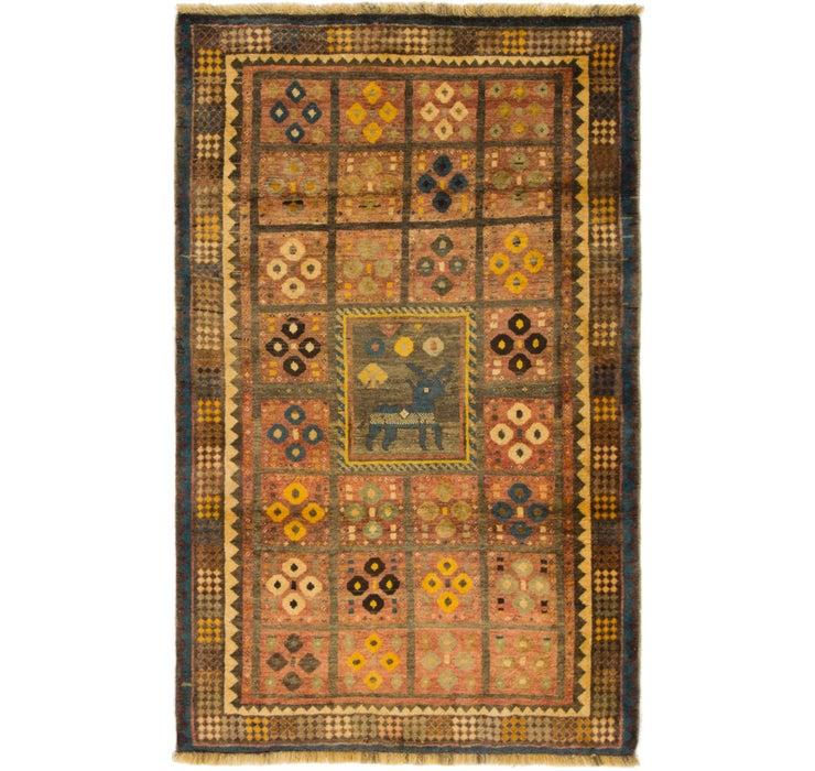 122cm x 195cm Ghashghaei Persian Rug