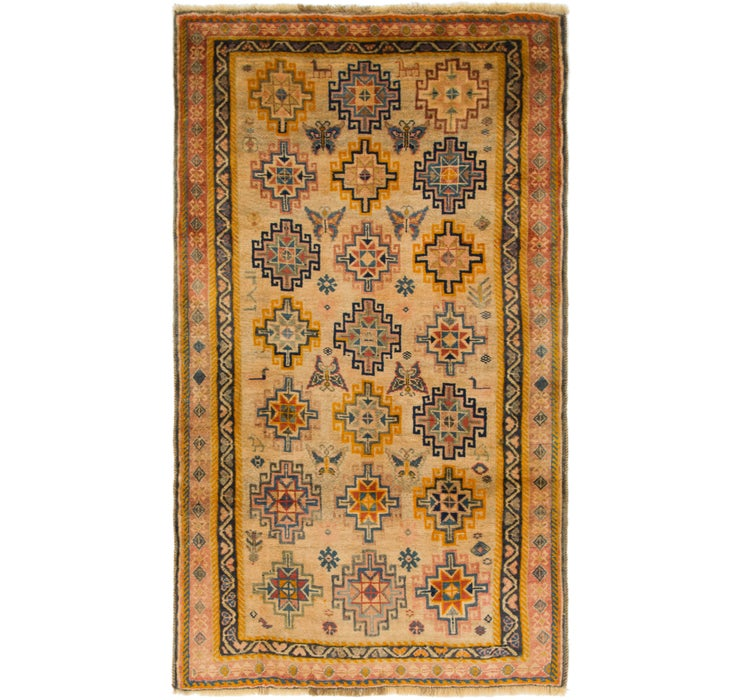 112cm x 195cm Ghashghaei Persian Rug