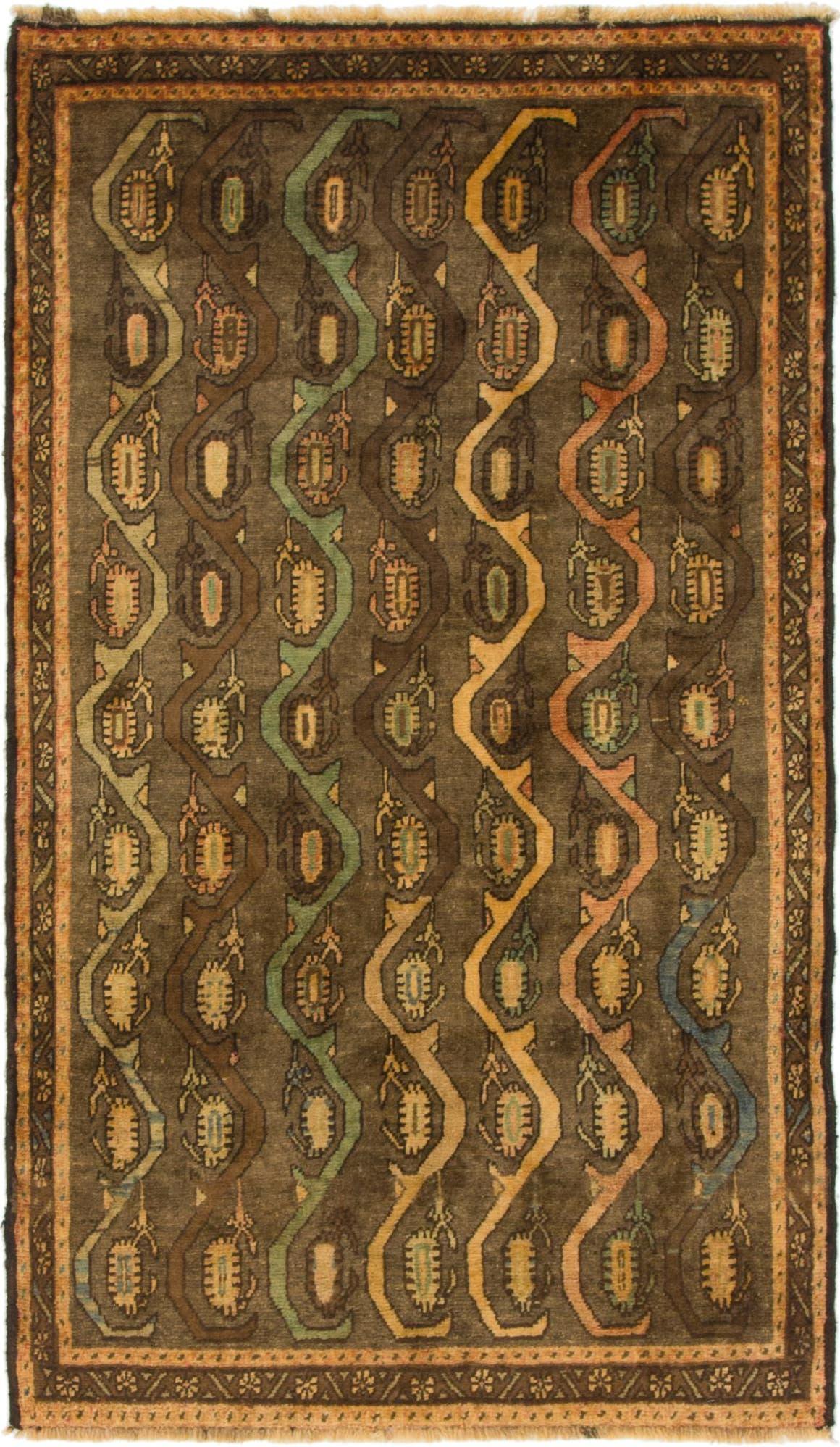 3' 5 x 6' Shiraz-Gabbeh Persian Rug main image