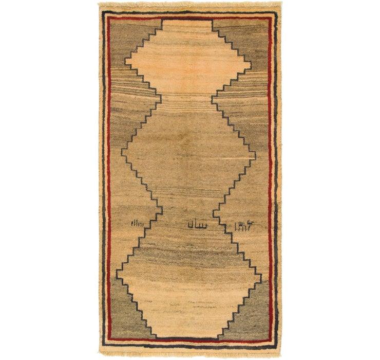 100cm x 190cm Shiraz-Gabbeh Persian Rug