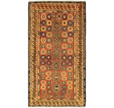 3' 6 x 6' 7 Shiraz-Gabbeh Persian Rug main image
