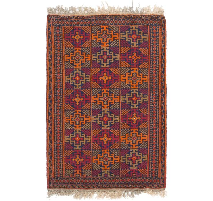 2' 9 x 4' 4 Shiraz Persian Rug