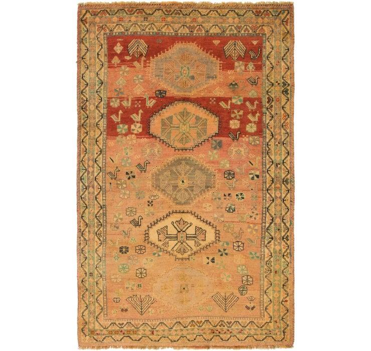 122cm x 198cm Ghashghaei Persian Rug