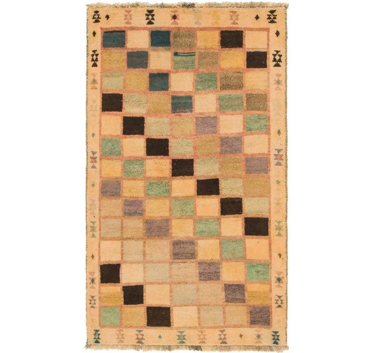 110cm x 193cm Shiraz-Gabbeh Persian Rug