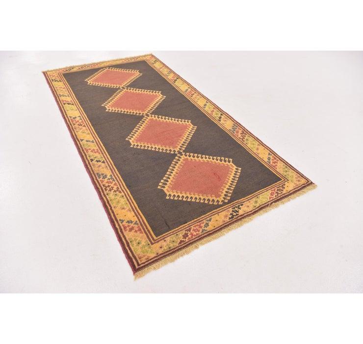 107cm x 205cm Shiraz-Gabbeh Persian Rug