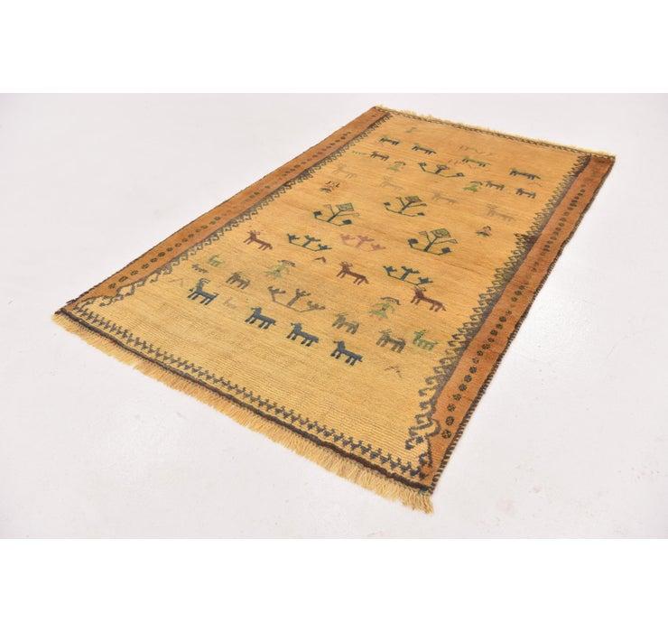 110cm x 178cm Ghashghaei Persian Rug