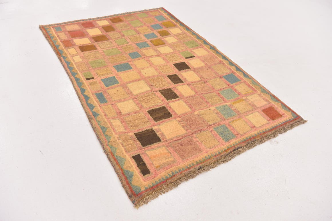 3' 6 x 5' 2 Shiraz-Gabbeh Persian Rug main image