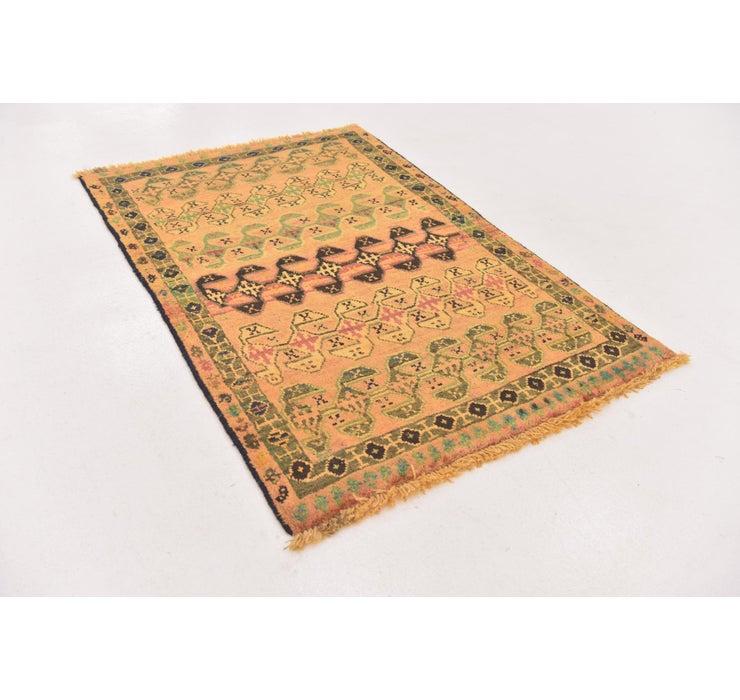 100cm x 152cm Shiraz-Gabbeh Persian Rug
