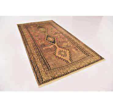 Image of 3' 10 x 7' 2 Shiraz-Gabbeh Persian Rug
