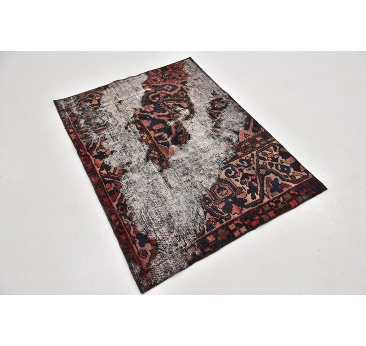 3' 4 x 4' 6 Ultra Vintage Persian Rug