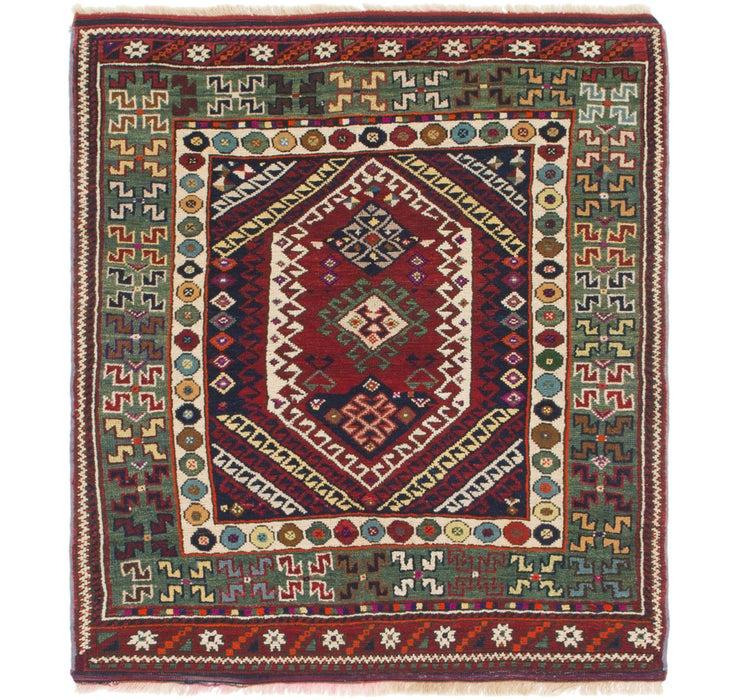 4' 6 x 5' Anatolian Oriental Squa...