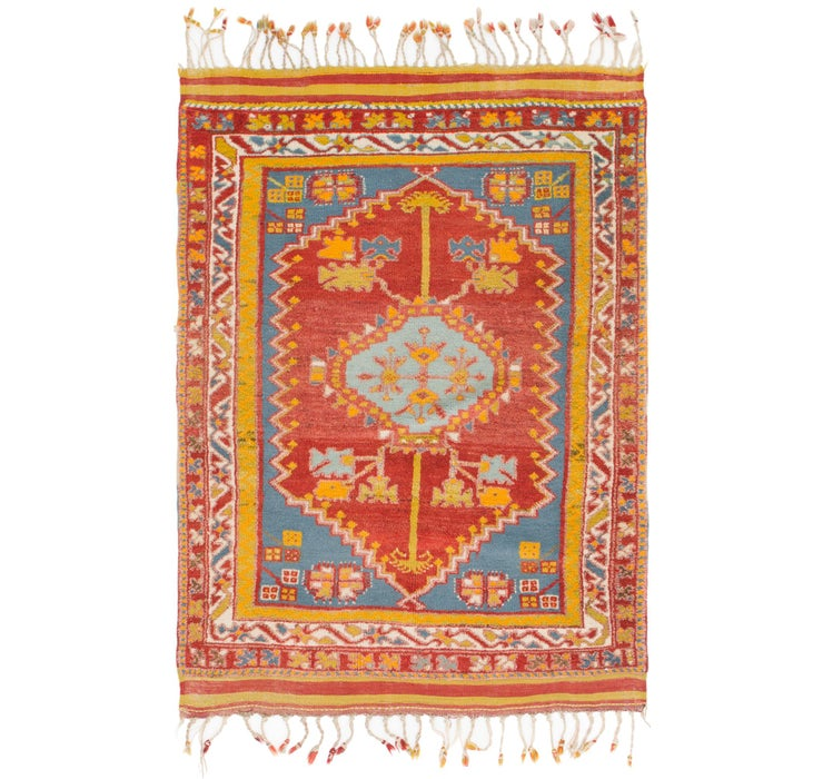 4' 3 x 6' 2 Anatolian Rug