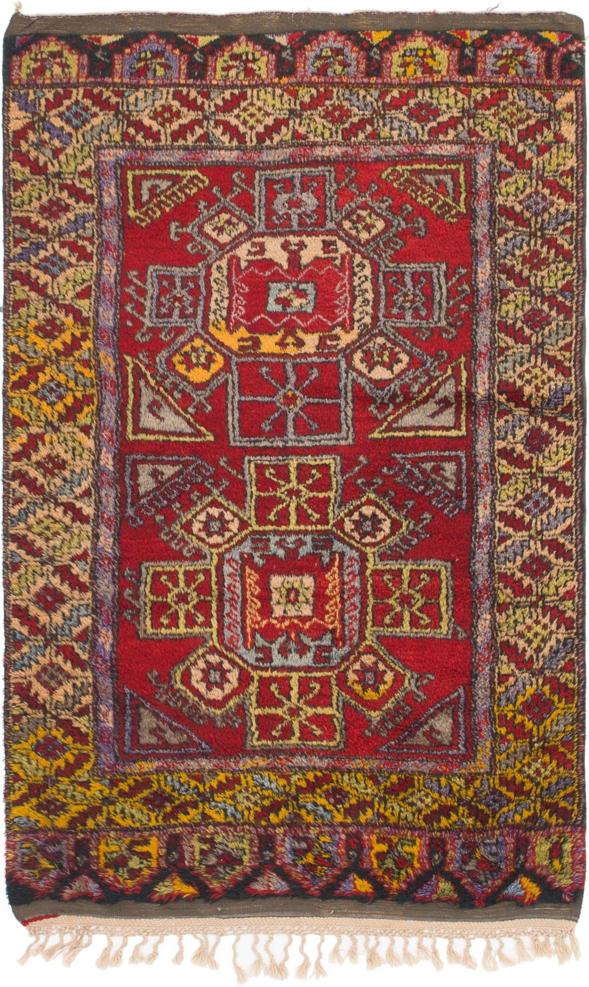 4' 2 x 6' 9 Anatolian Oriental Rug main image