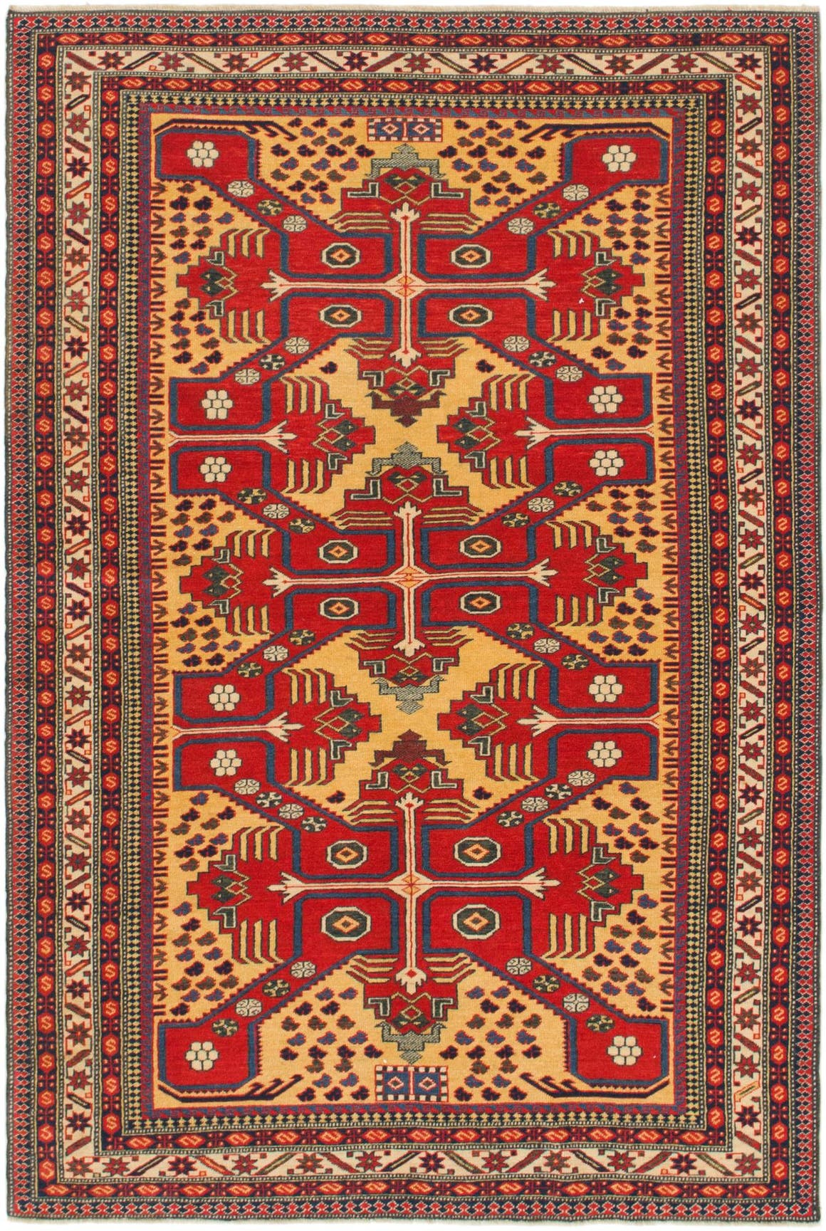 4' 6 x 6' 8 Shirvan Persian Rug main image