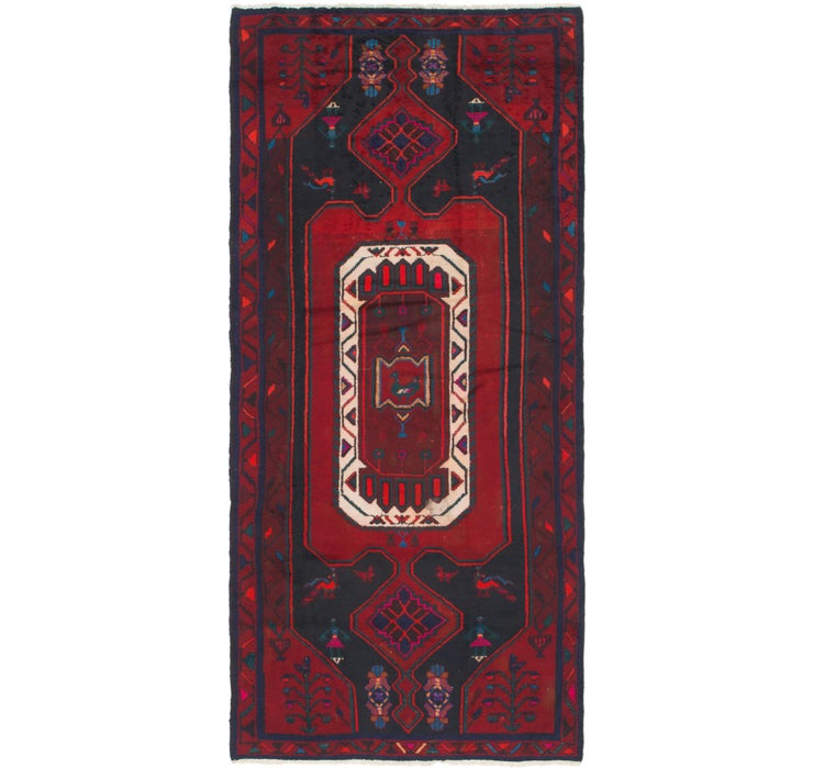 122cm x 275cm Zanjan Persian Runner Rug