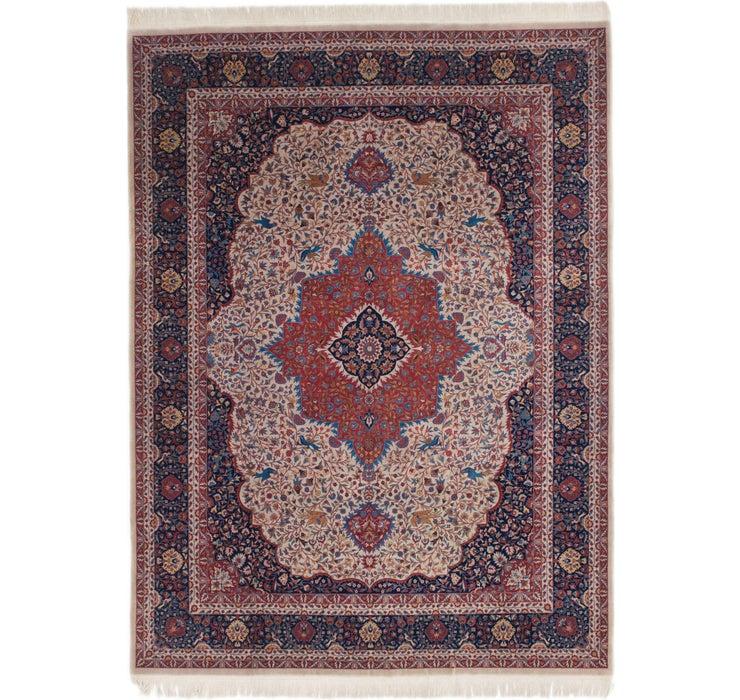 7' 2 x 9' 7 Isfahan Oriental Rug