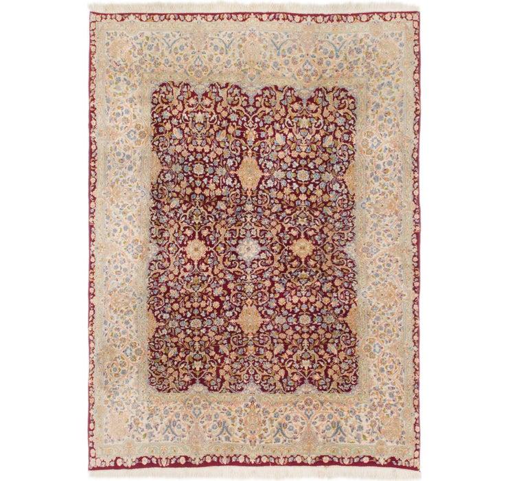 7' 3 x 9' 10 Kerman Persian Rug