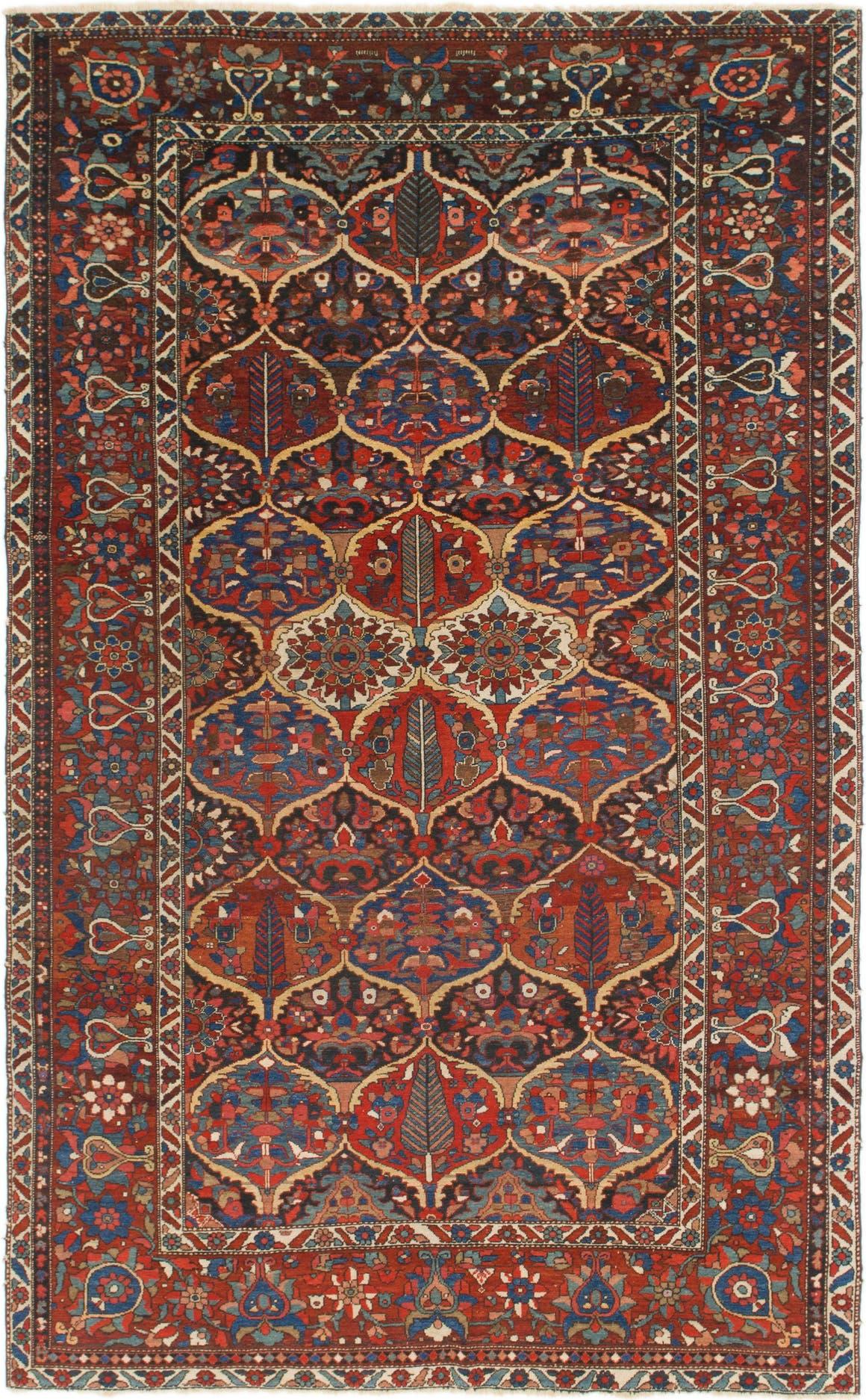 6' 6 x 10' 8 Bakhtiar Persian Rug main image