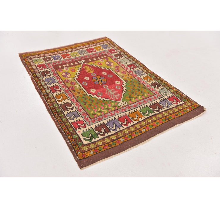 2' 6 x 3' 7 Anatolian Oriental Rug