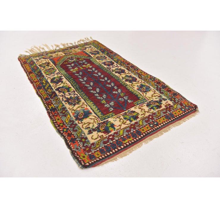 90cm x 132cm Anatolian Oriental Rug