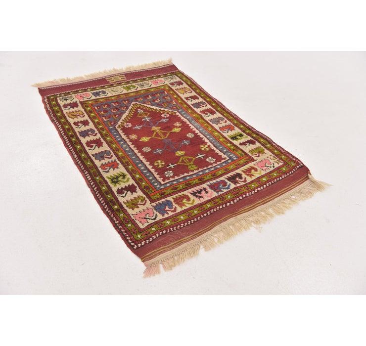 2' 7 x 3' 10 Anatolian Oriental Rug